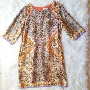 Dresses & Skirts - Multicolored Print Shift Dress